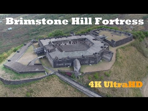 Brimstone Hill Fortress in 4K UltraHD