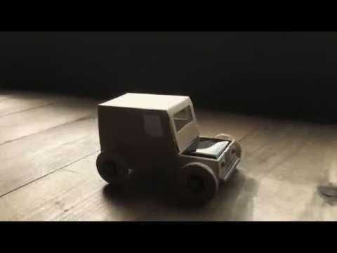 Autogami , la petite voiture à énergie solaire