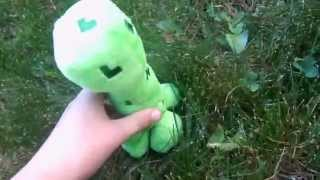 The Minecraft plush adventures episode 2: finding a creeper