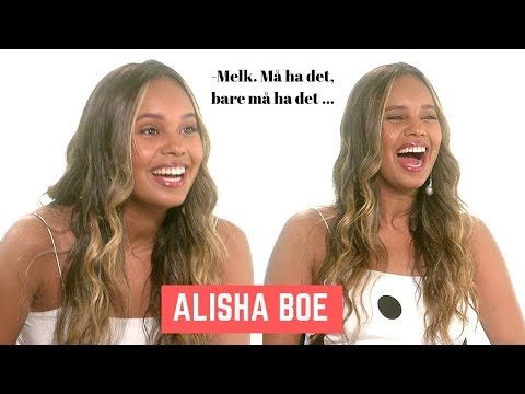 Alisha Boe Speaks (FUNNY) Norwegian ... (2019)