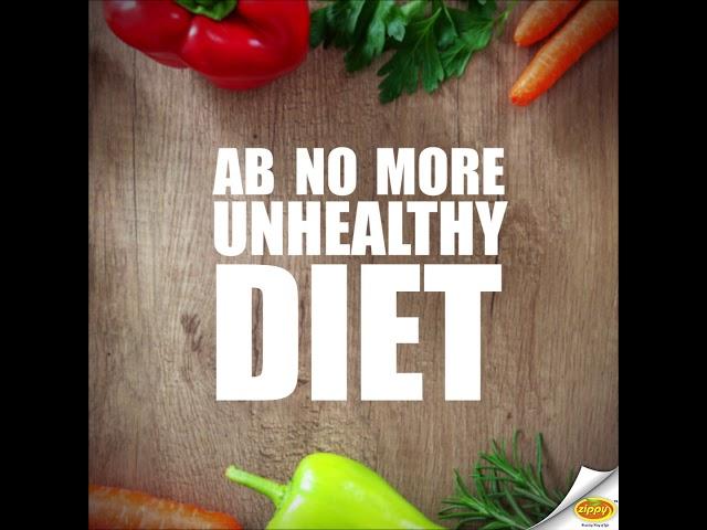 Mastroni - Ab No More Unhealthy Diet