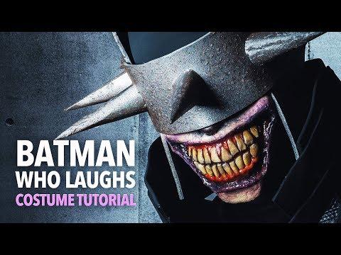 The Batman Who Laughs makeup & costume tutorial
