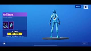 September 7, 2019 Fortnite item shop today show case NEW SKIN IN VBUCK STORE