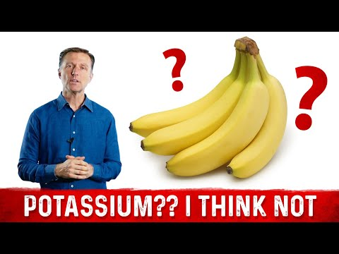 Bananas are NOT the Best Source of Potassium, why?