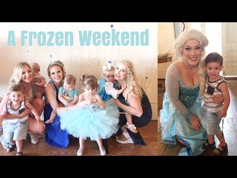 A VERY SPECIAL FROZEN BIRTHDAY PARTY   GET READY WITH ME VLOG