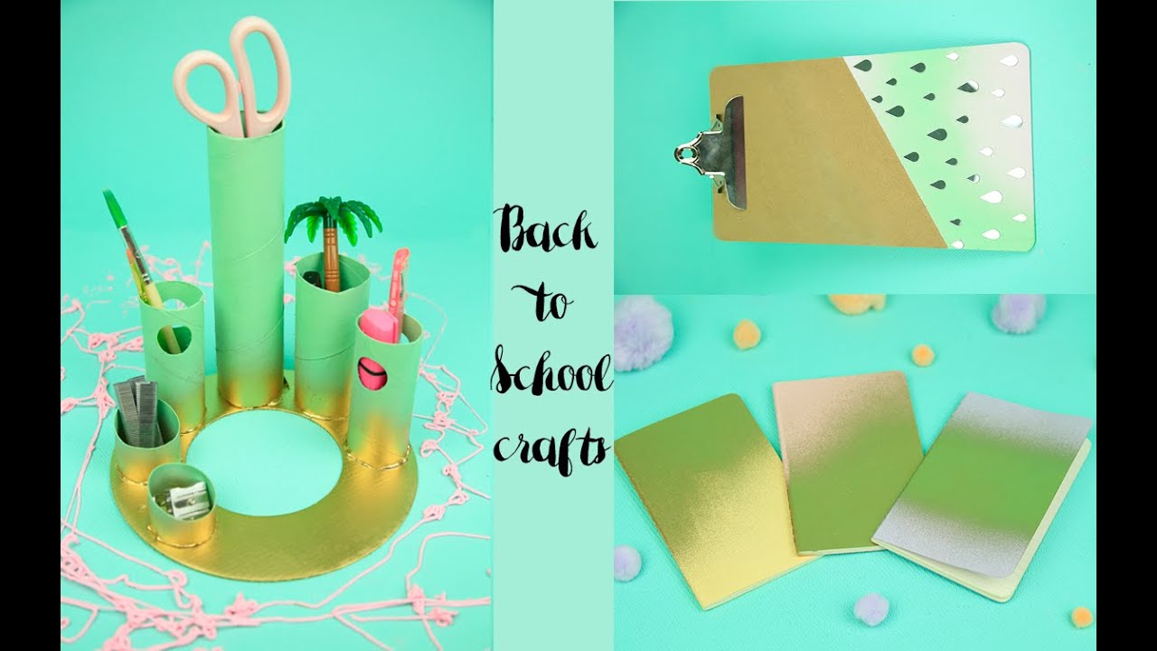 Seven Back to School Crafts for Kids • Crafting a Green World