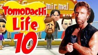 tomodachi life 10 ★ chuck norris raumt auf hd