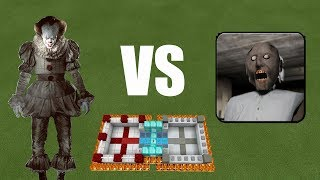 It vs Granny | Minecraft PE