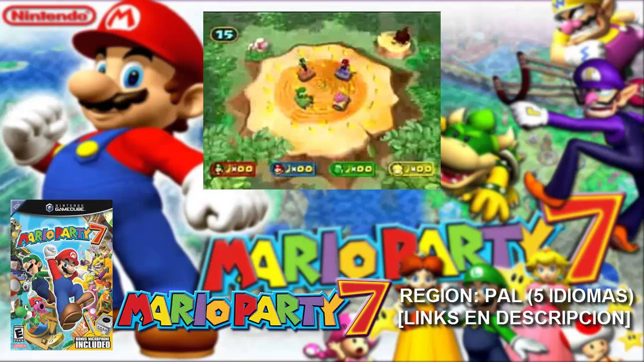 [NGC] Mario Party 7【ISO PAL 5 IDIOMAS】(MEGA)