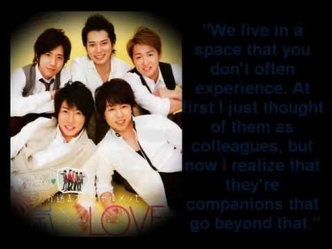 Arashi 嵐   Best Quotes