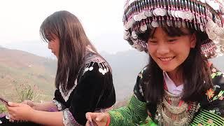 Siêu lòng với 2 em gái H'Mông cực xinh trên đồi Mâm Xôi | phượt Mù Cang Chải ( Tập 7 ) | GÁI BẢN