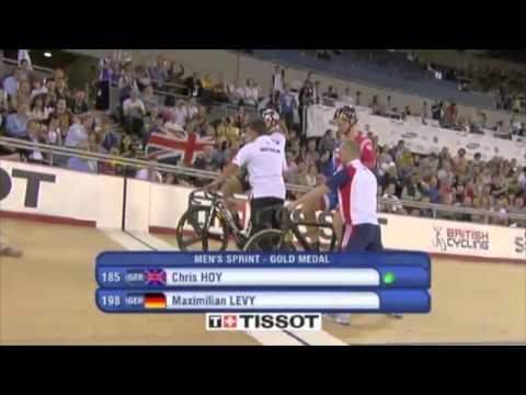 Chris Hoy Wins Mens Sprint - London World Cup 2012