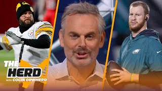 Eagles trade Carson Wentz to Colts - Colin Cowherd reacts, talks Big Ben & Steelers | NFL | THE HERD