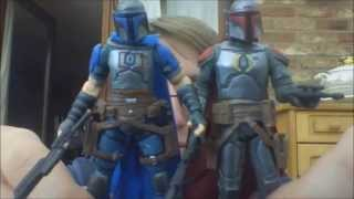 Star Wars Expanded Universe Jasster Mereel & Montross comic pack review