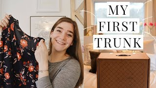 My first Trunk from Trunk Club! Full unboxing, clothing try on, and...