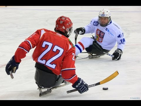 Canada V Norway Highlights And Ceremony - International Ice Sledge Hockey Tournament