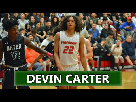 Doral Academy 2020 SG Devin Carter Scores 32 Points with 2 BIG Dunks! | Best Player in Dade County?!