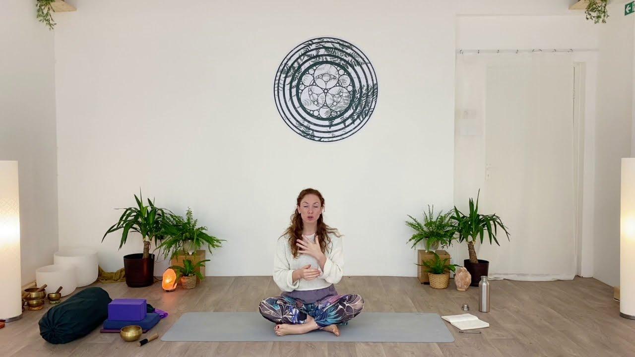 GENTLE YOGA & MEDITATION.
