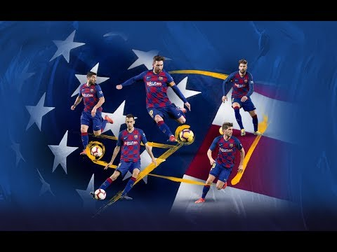 SUMMER 2019   Barça is returning to the USA!