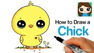 How to Draw a Baby Chick Cute and Easy