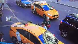 Москвада Кыргыз Таксиз 8 адамды сузуп кеттиптир 2018