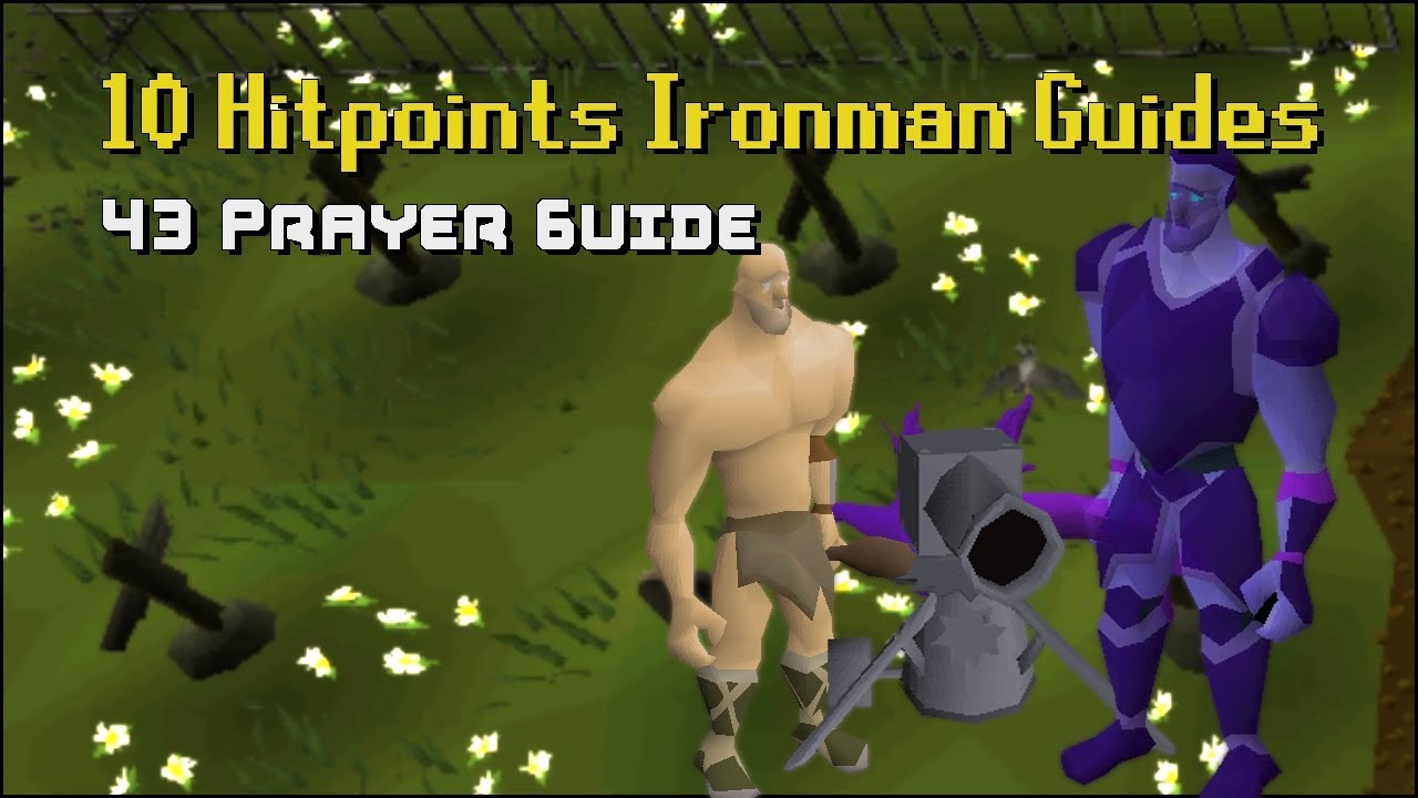 10 HP Ironman Guides