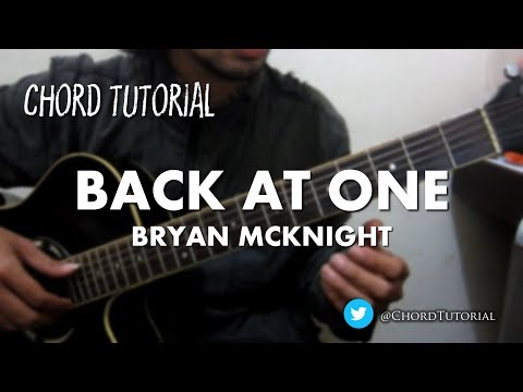 Back At One - Bryan McKnight (CHORD)