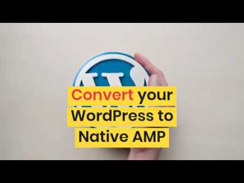 Convert Your WordPress to Native AMP