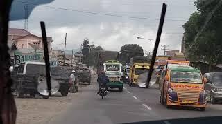 Bus Sinabung Jaya Raya Beraksi Di Jalanan
