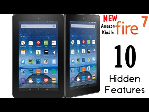 10-hidden-features-of-the-new-amazon-kindle-fire-7-tablet-(2015)​​​-|-h2techvideos​​​