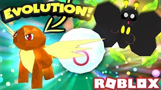 GETTING THE BEST BUSH PET AND EVOLVING THE BEST LEGENDARY PET! | Roblox Pet Trainer