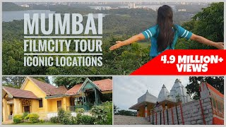Mumbai FILMCITY Tour | Famous Locations | Interesting facts about Film and Serial shoots