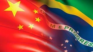 A história da China-Brasil relacionamento