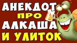 АНЕКДОТ про Мужа Алкаша и Жену и Улиток Самые смешные свежие анекдоты