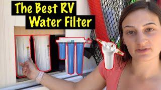 Van Life Water Filter Options  | Van Life Water Tips