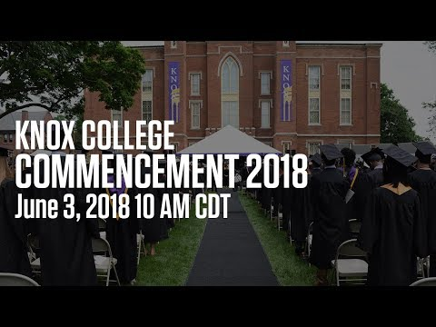 Knox College Commencement 2018