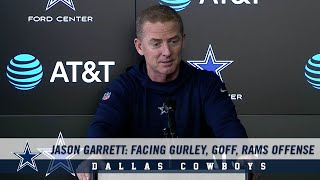 Jason Garrett Press Conference: Facing Gurley, Goff, Rams Offense | Dallas Cowboys 2018-2019