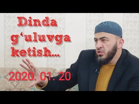 2020 ЙИЛДАГИ ЭНГ ЗУР МАЪРУЗАСИ ФАРУК (ФАРРУХ) СОИПОВ