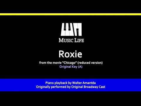 Roxie (Chicago) - Piano Playback for Cover / Karaoke
