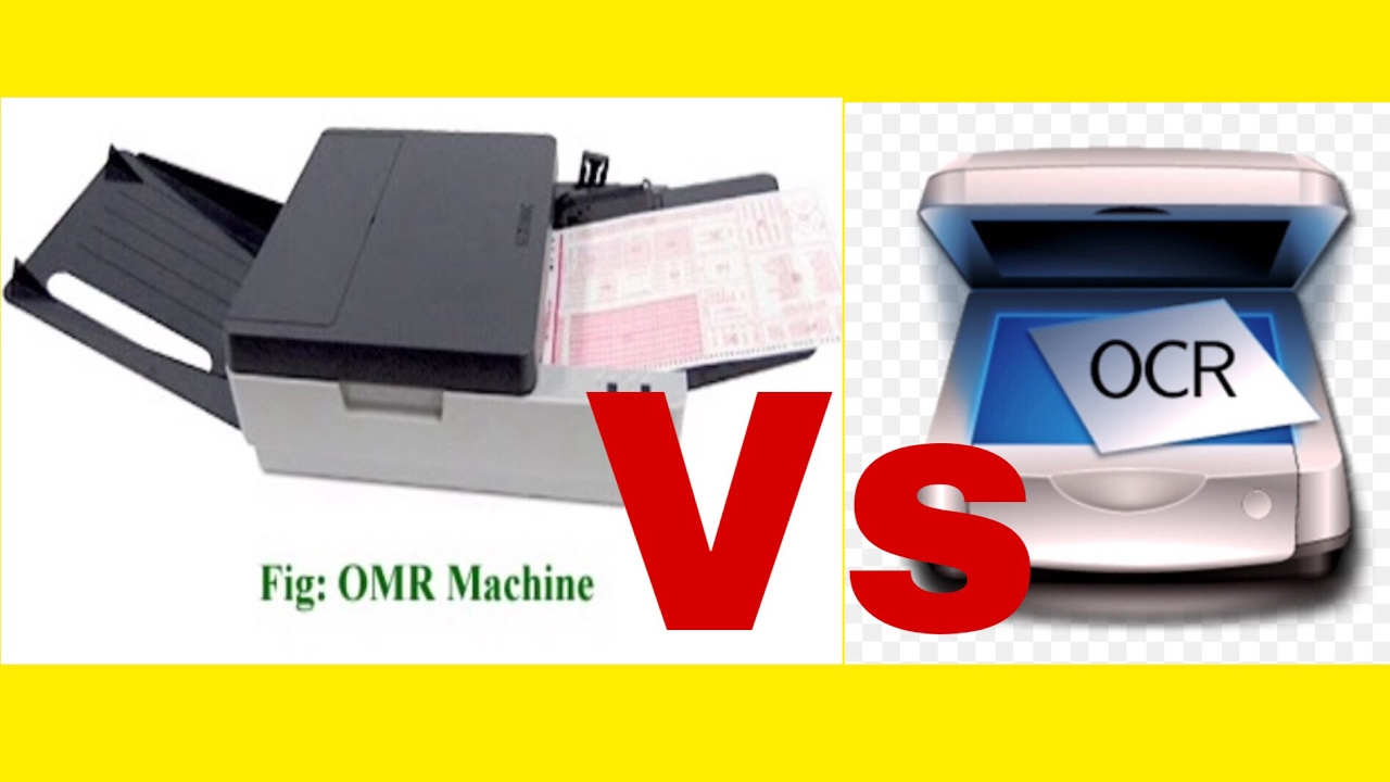 OMR vs OCR# OMR & OCR explained!!!(in Hindi)