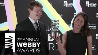 The Washington Post's 5-Word Speech at the 21st Annual Webby Awards