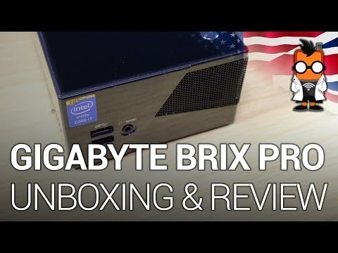 Gigabyte Brix Pro Intel Core i7 quadcore Mini PC - Unboxing & Overview [ENG]