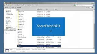 SharePoint 2013 Tutorial - Install SharePoint 2013 Single Server with existing SQL Server