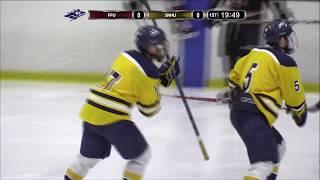 Highlights: Ice Hockey vs.  Franklin Pierce