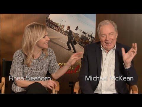 """Better Call Saul"" Co-stars Michael McKean and Rhea Seehorn Talk About Bob Odenkirk"
