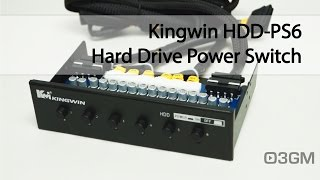 #1719 - Kingwin HDD-PS6 Hard Drive Power Switch Video Review