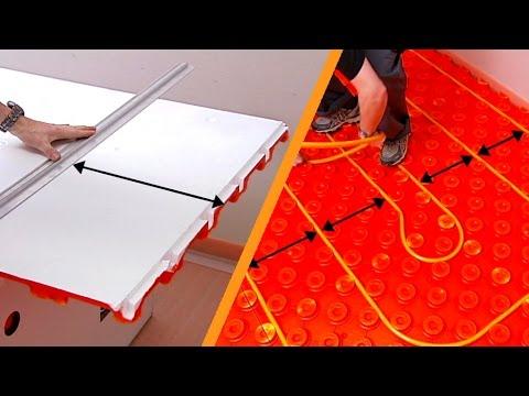 Come posare un riscaldamento a pavimento schlüter bekotec therm