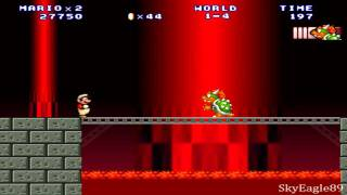 mario Forever walkthrough World 1 - 4