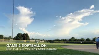Softball: Benton at Vinton-Shellsburg