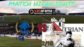 CHESTER FC 3-1 DARLINGTON MATCH HIGHLIGHTS: VANARAMA NATIONAL LEAGUE NORTH: 01/12/18